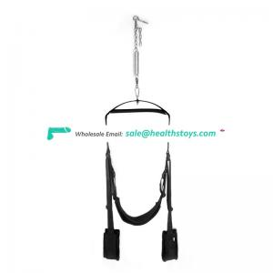 Multifunctional 360 degree spinning sex swing adult sex toy