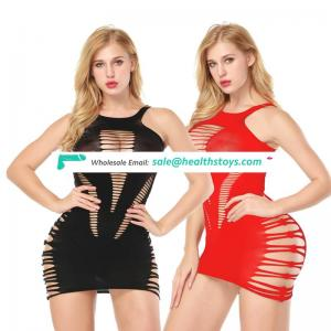 Netting style black red color women sex lingerie midnight sexy under wear Amazon hot selling