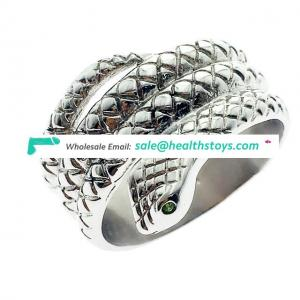New Design Pure Handwork Craft Cock Ring Penis Glans Rings for Male