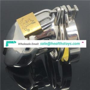 New Super Small Male Chastity Device Adult Cock Cage Sex Toys Stainless Steel Chastity BDSM CBT Fetish C042