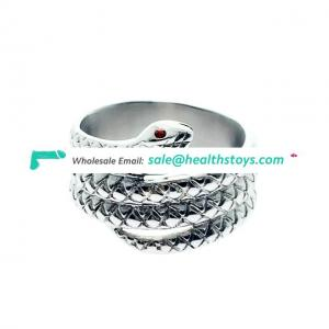New design Stainless steel Metal Cock Ring Male Enlargement Love Ring