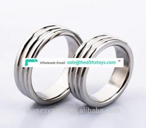 New sex toys medical stainless steel metal penis ring cock ring for men