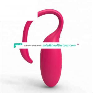 Newest remote control APP vibrating wireless sex/love egg massager toys masturbation for woman