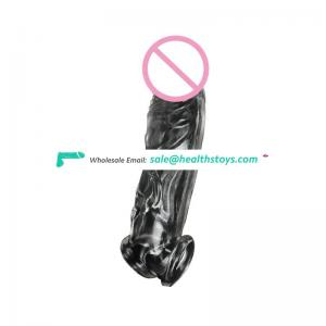 Penis Enlargement Condoms Penis Extension Sleeve for Adults Intimate Goods Reusable Condom Cock Rings