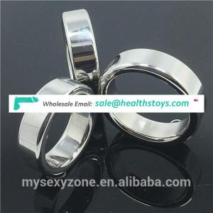 Penis Ring Chastity Device Stainless Steel Sex Delay Love Magnetic Cock Ring