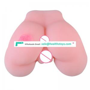 Pink flower image realistic artificial ass doll for male masturbation device
