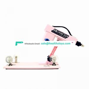 Popular design with attractive function sex machine gun for women sex tool