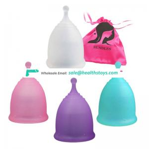 Private custom brand FDA CE certified silicone menstrual cup multi color reusable lady cup menstrual for women