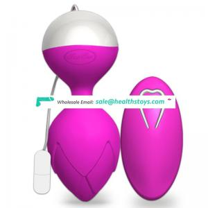 Remote control strong vibrating kegel balls stress sex ball vibrator sex toy