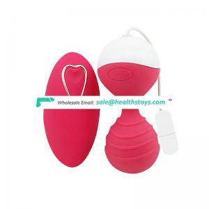 Remote control super kegel vibrator strong vibrating kegel balls