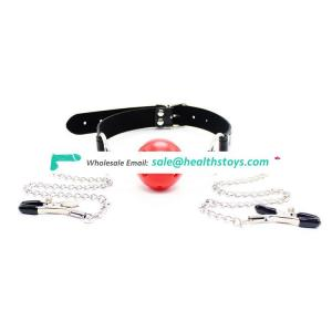Sex products ball gag for couples play mouth gag adults games sex toy gag