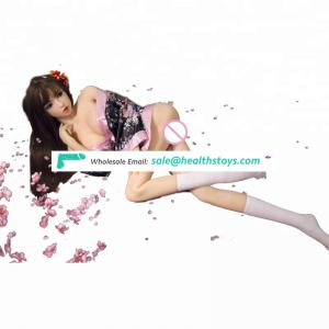 Sexy Chinese girl wearing White stockings Big chest/breast ass 138/148cm love doll sex for men