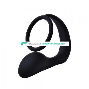 Silicone Male Sex Toy Prostate Massager Cock Ring for Man