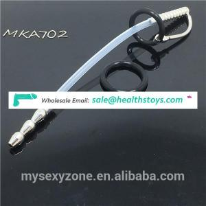 Silicone Urethral Sounds Penis Plug Urethral Stretching Dilator Male Chastity Device