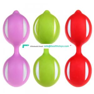 Silicone kegel trainer for women vagina ben wa balls