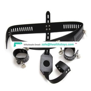 Simple structure strap on harness sex belt with penis for men