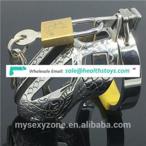 Small Male Chastity Device Cage Stainless Steel Penis Sleeve Cock Sleeve
