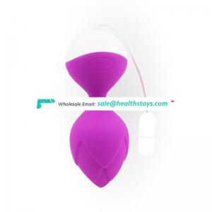 Smart vibrating ball vibrator app controlled bluetooth kegel ball for woman