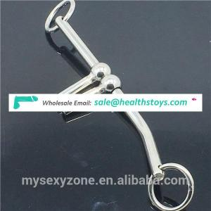 Stainless Steel Double Ball Anal Butt Plug Female Urethral Vagina Dilator