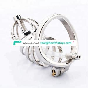 Stainless Steel Erotic Toys Male Chastity Device Chastity Cock Cage BDSM Fetish Sex Cages for Male