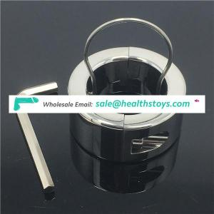 Stainless Steel Male Bondage Sex Toys Testicle Physical Exercise Toys for man healthcare