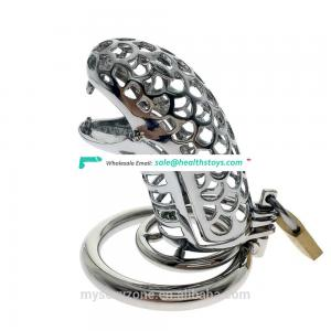 Stainless Steel Male Chastity Cage Device Cock Cage Penis Device BDSM bondage cage tube