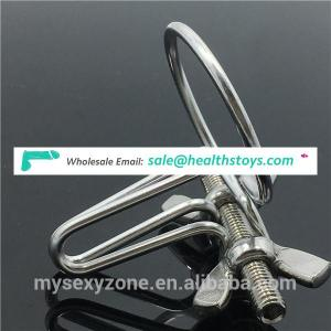 Stainless Steel Male Masturbation Urethral Speculum Plug Penis Stimulating Sex Toys