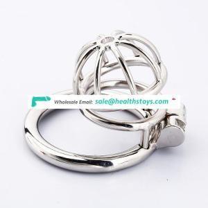 Stainless Steel Male Small Chastity Penis Cock Cage for Boys Bondage Erotic Sex Toys