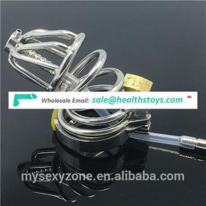 Stainless Steel Mesh Male Chastity Device Chrome Mens Chastity Belt Cock Cage New