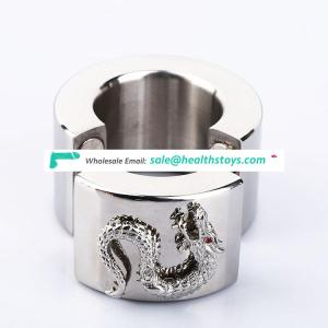 Stainless Steel Scrotum Stretchers Ring metal Locking Hinged Ball Stretcher