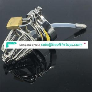 Stainless Steel Stealth Lock Male Chastity Device Cock Cage Virginity Lock Penis Lock Cock Ring,Chastity Be BDSM CBT Fetish C021