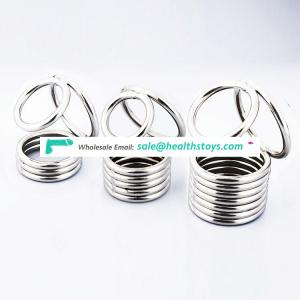 Stainless cock cage steel sex toys ring for men cock cage chastity device