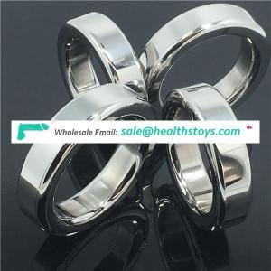Stainless steel Ball Stretcher Male Chastity Sex Products magnetic Cock Ring Penis Ring
