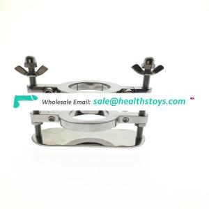 Stainless steel Scrotum Stretcher ,Ball Splitter with Crusher, Ball stretcher