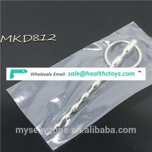 Stainless steel Urethral Speculum Sounds Penis plug for Male Sex toys