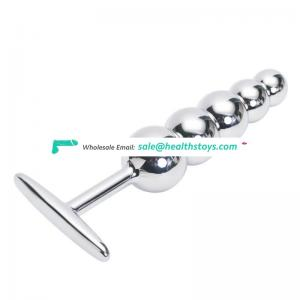 Stainless steel anal plug metal adult sex toys