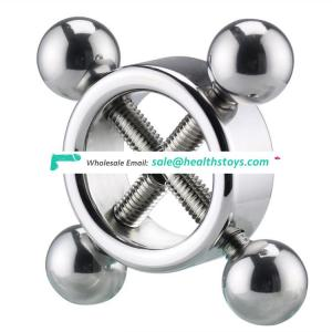 Stainless steel cock ring men sex delay ring products