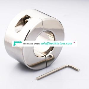 Stainless steel cock ring scrotum stretcher ball stretcher weight for CBT delay ejaculation penis ring