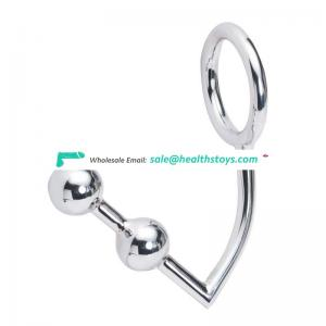 Stainless steel penis anal plug urethral sound set
