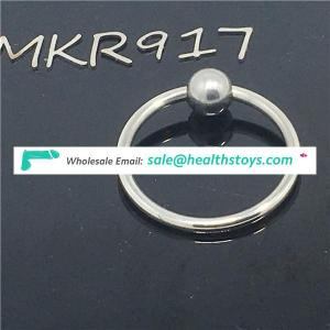 Stainless steel penis ring chastity device bdsm sex delay love ring