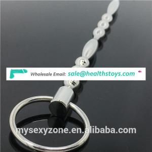 Super urethral sound device bdsm chastity penis head ring