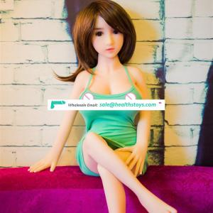 TPE adult silicone dolls  female mini 100cm young girl 18 sex love doll