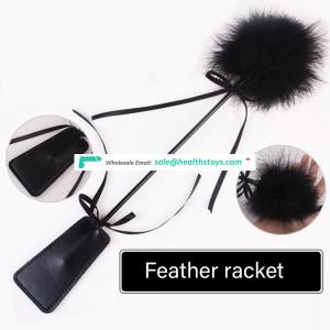 Teasing Whip Sexy Spanking Props Feather Tickler and spanking pad