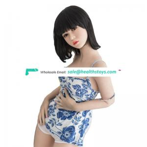 Teen small flat breast china girl silicone sex doll