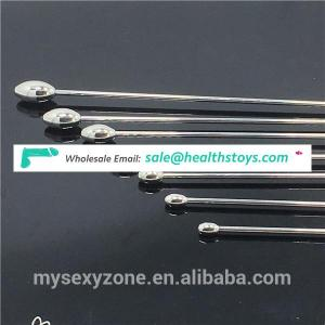 Ultra thin ring style urethral sound plug stainless steel urethral dilators penis plug