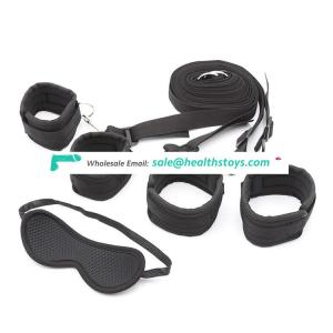 Under bed bondage restraint beds bdsm restraint kits with sex mask