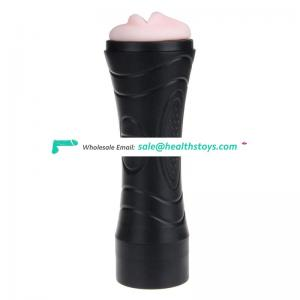 Vagina and mouth design male penis masturbation cup