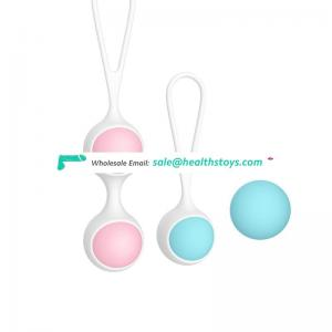 Vaginal tightening kegel ball exercises doctor recommended ben wa balls silicone bladder control geisha ball for women