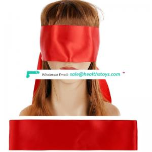 Variety color available satin fetish sex eye mask female bondage