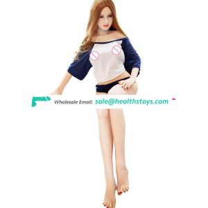 Video girl toy 140cm female silicone big ass sex doll